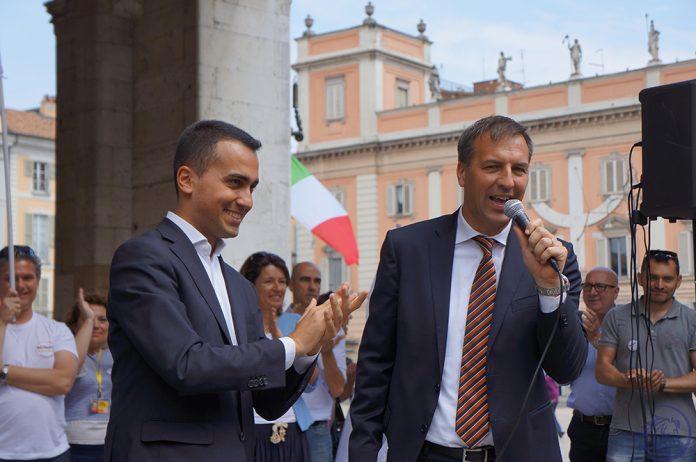 Luigi Di Maio a Piacenza per sostenere Andrea Pugni