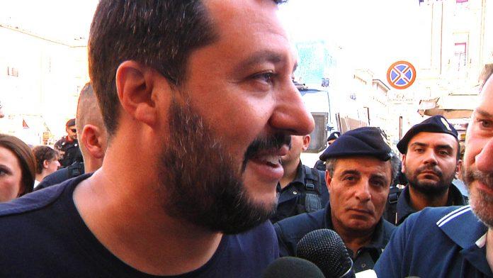 Matteo Salvini a Piacenza