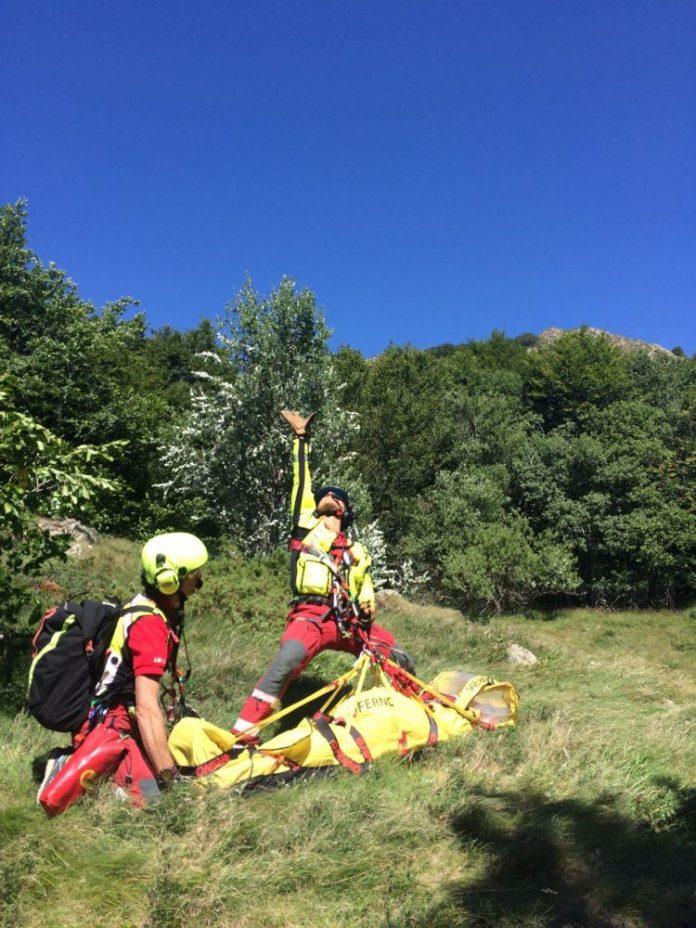 Una giovane escursionista è romasta gravemente ferita durante una salita sul monte Maggiorasca