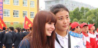 Alessia generazione Erasumus. Intercultura in Cina Scambio scolastico