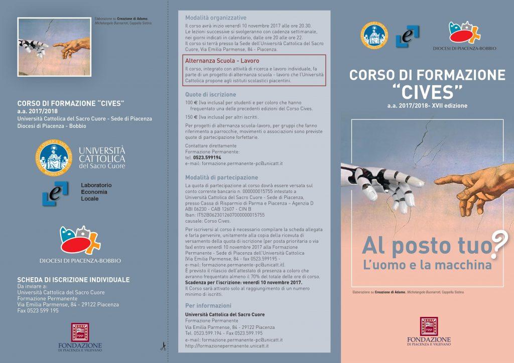 Calendario Lezioni Unicatt.Torna Cives In Cattolica Con Un Focus Sul Rapporto Tra