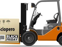 Sciopero Amazon Black Friday