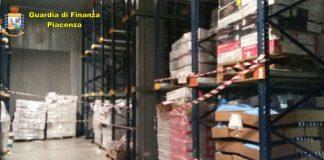 Maxi sequestro di carne dannosa alla salute effettuato dalla Guardia di Finanza di Piacenza che ha evitato l'immissione in commercio di 140 tonnellate di carne.