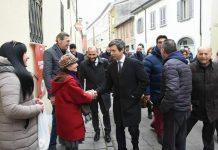 Il Ministro Orlando a Fiorenzuola coi candidati piacentini