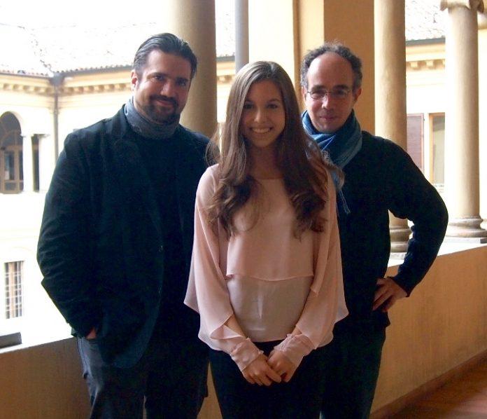 Trio composto da Clarissa Bevilacqua (violino), Marco Decimo (violoncello) e Davide Cabassi (pianoforte)