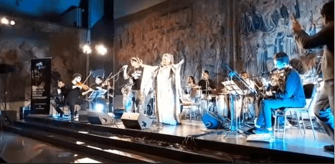 L'Orchestra dei Popoli ha fatto ballare tutta la Galleria Alberoni nella serata del 3 febbraio