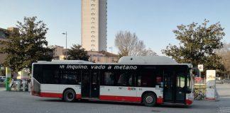 Autobus Seta in stazione a Piacenza