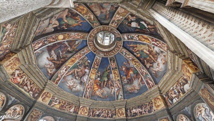 Santa Maria di Campagna Cupola centrale del Pordenone