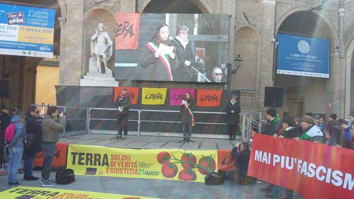 Piacenza presente contro le vittime di mafie