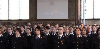 Cerimonia conclusiva per 204 nuovi viceispettori inGotico