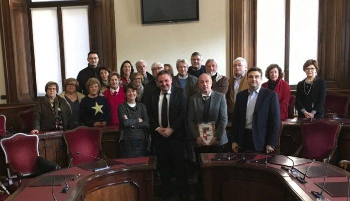 Oriundi Piacentini in visita in Municipio