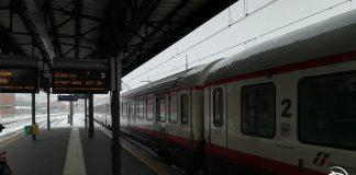 treno in ritardo causa neve