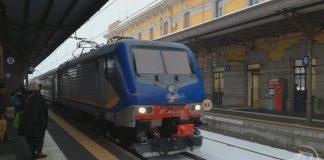 Locomotiva treno Trenitalia Fs