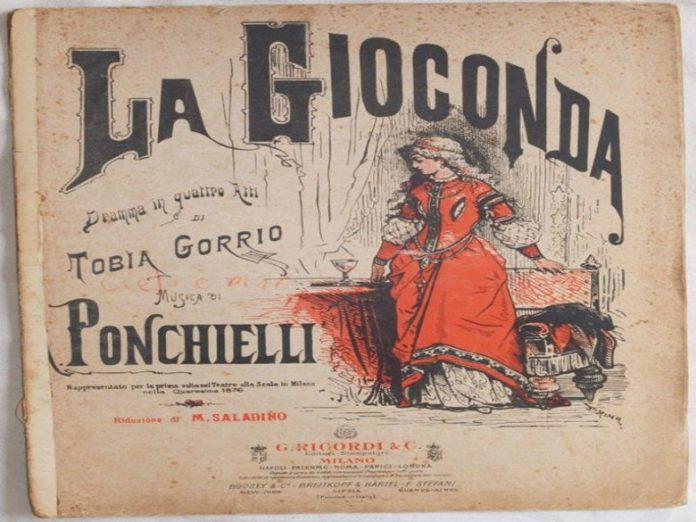 La Gioconda di Ponchielli arriva ai Teatini domenica 11 marzo