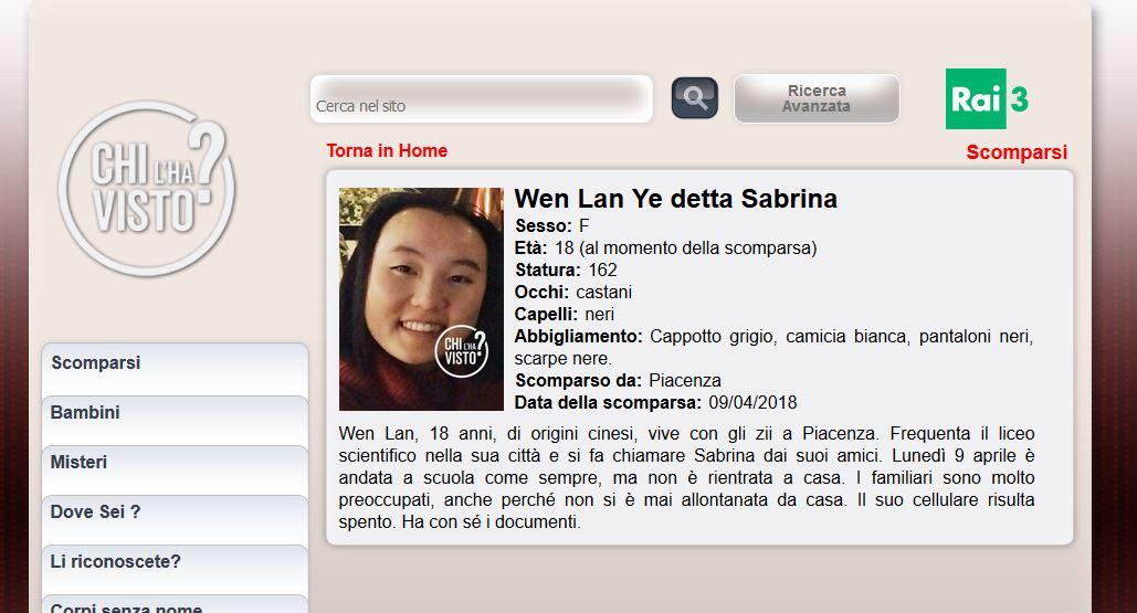 Risultati immagini per Sabrina Ye