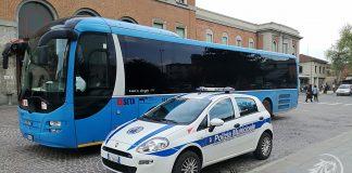 Presidio polizia Municipale in stazione a Piacenza