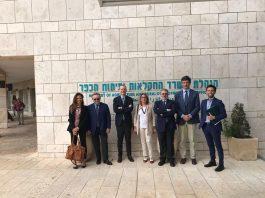 La delegazione di Confagricoltura al Ministero dell' Agricoltura israeliano
