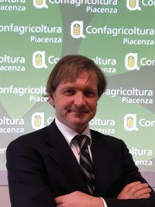 Filippo Gasparini presidente di Confagricoltura Piacenza