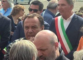 Bonaccini e don Ciotti a Calendasco per la rewstituzione alla comunità di un bene confiscato alla mafia