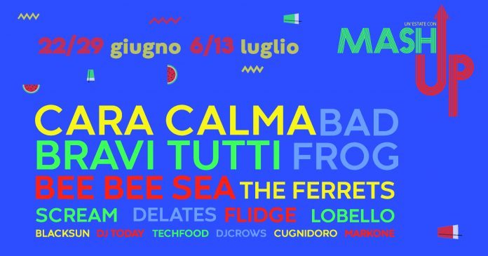 Mashup Festival arriva a Piacenza ogni venerdi dal 22 giugno