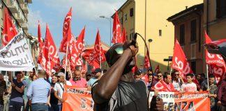 SiCobas a Piacenza con ControTendenza per manifestare