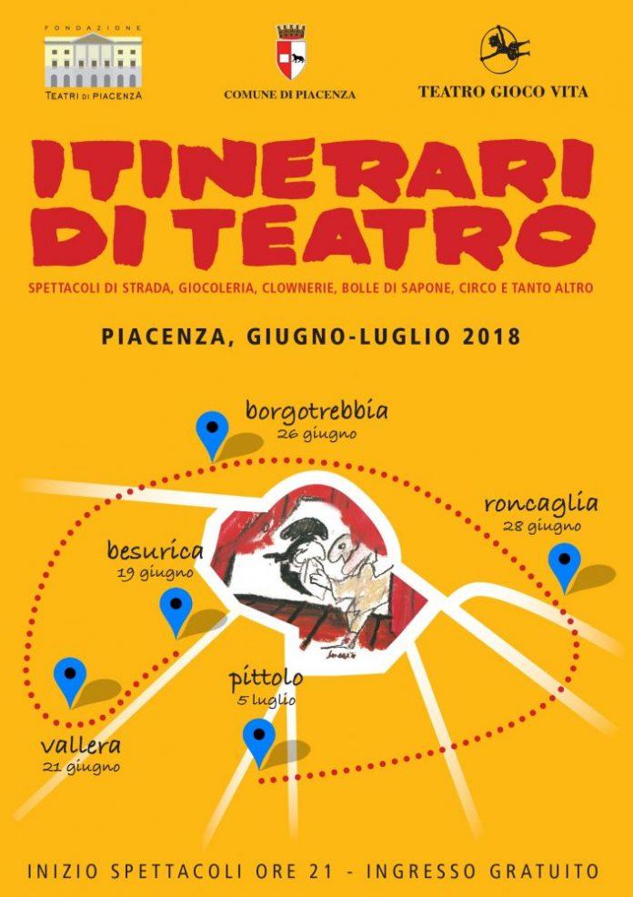 Itinerari di Teatro a Piacenza
