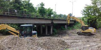 Consolidamento del ponte di Vigolo