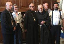 Il nuovo patriarca della Chiesa greco-melchita è salito in Cupola ad ammirare il Pordenone