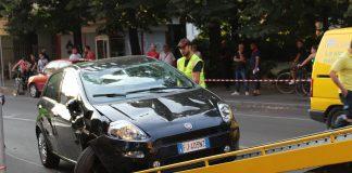 Incidente in Viale Dante