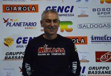 Nella foto, Mauro Bartolomeo, tecnico della Canottieri Ongina