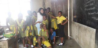 Teresa Amodeo e il suo viaggio in Ghana