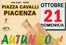 Mercato d'autunno domenica 21 ottobre in piazza Cavalli a Piacenza