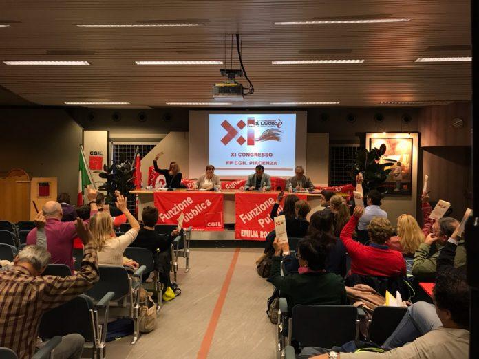 Congresso Cgil oggi certifica l'ingresso di Melissa Toscani nella segreteria