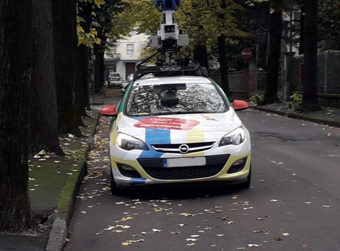 L'auto di Google in giro per Piacenza per aggiornare Street View