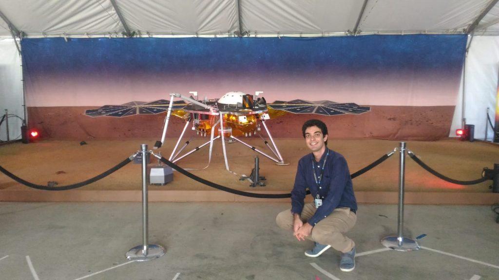 Fabio Ferrari testimone dell'atterraggio di Insight su Marte