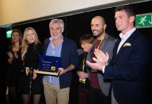 La consegna del premio Profondo giallo 2018 a Erick Zonca
