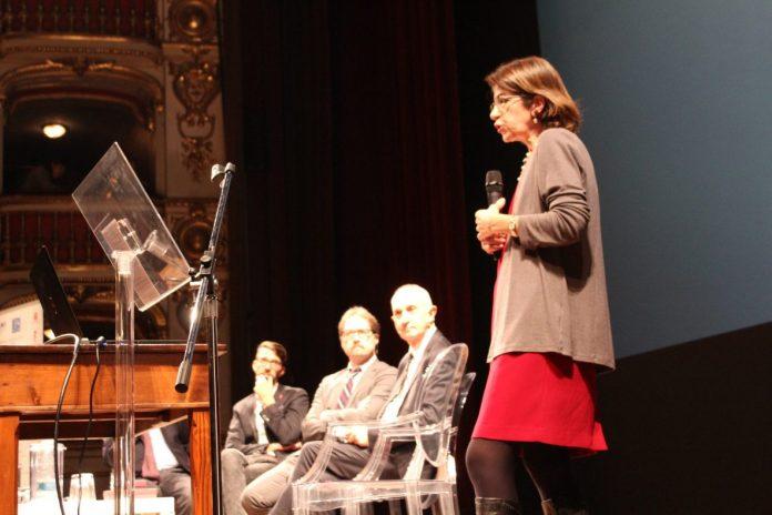 Fabiola Gianotti dal Cern al Municipale