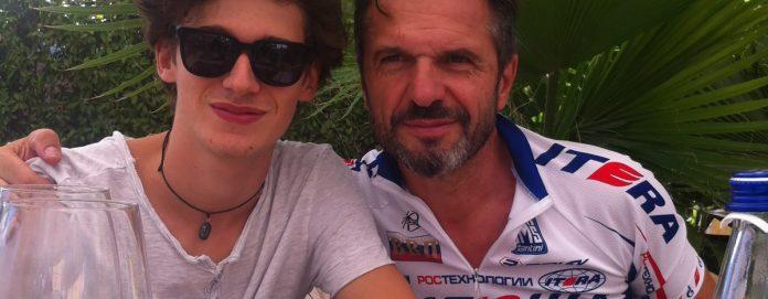 Emanuele e papà Gianpietro - Fondazione Pesciolinorosso