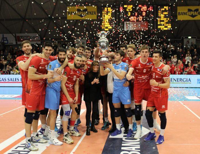 Gas Sales vince e festeggia la Coppa Italia