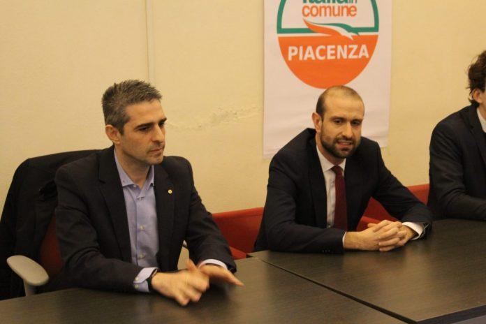 Federico Pizzarotti a Piacenza in sostegno della sezione locale di Italia in Comune