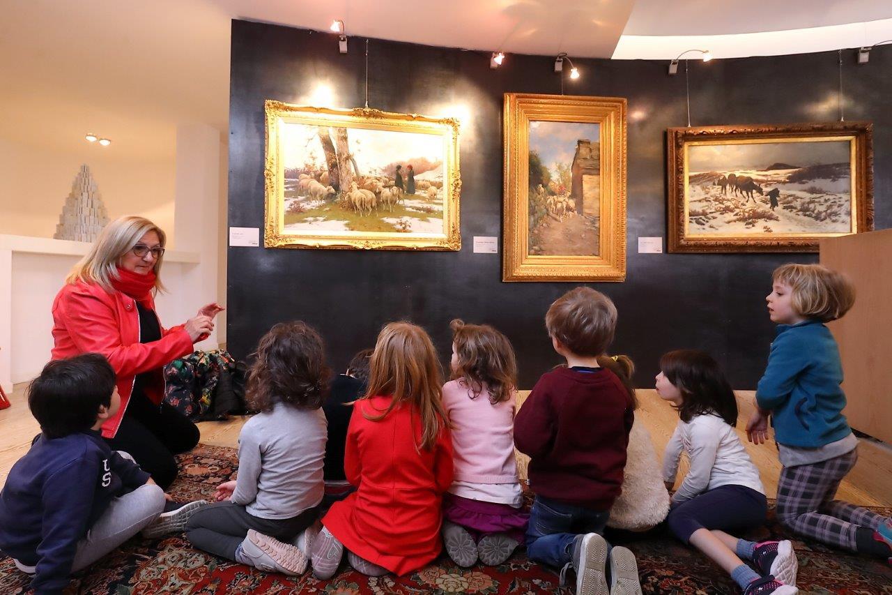 L'arte come mezzo per i bambini del polo infanzia di via Sbolli nel progetto Edugate
