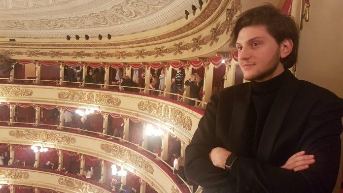 Davide Tramontano e il suo sogno da direttore d'orchestra sbarcano a Bruxelles