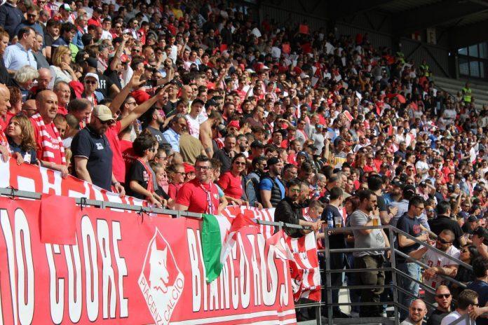Mai così tanti spettatori per il Piacenza Calcio da moltissimi anni