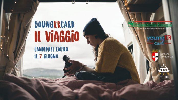 Tre ragazzi su un furgone promuoveranno il volontariato dell'Emilia Romagna targato YoungERcard