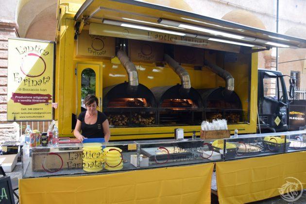 La farinata al Gola Gola Festival di Piacenza