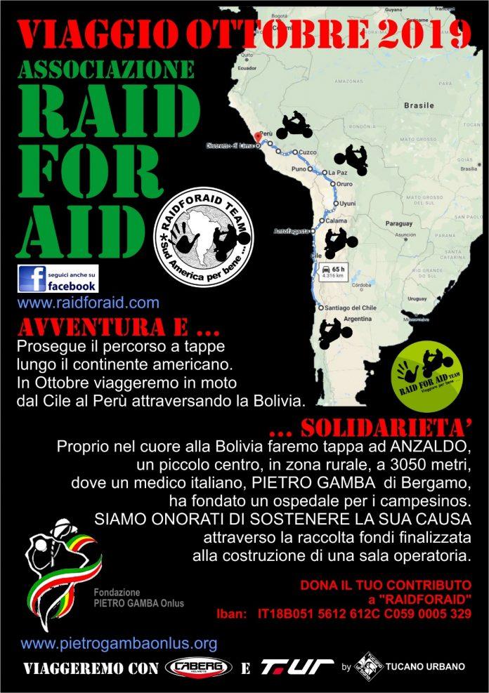 Torna la tradizionale cena di Raid for Aid, tra solidarietà ed esperienze di viaggio