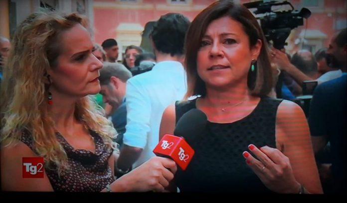 Paola De Micheli al TG2: