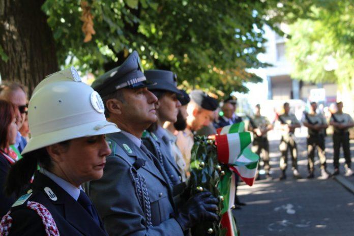 76° anniversario della battaglia di Barriera Genova, la commemorazione dei caduti