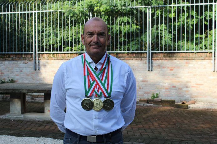Gli anni non passano per Giuseppe Cattivelli, tre medaglie alle Olimpiadi Over 50 di Marina di Pisticci