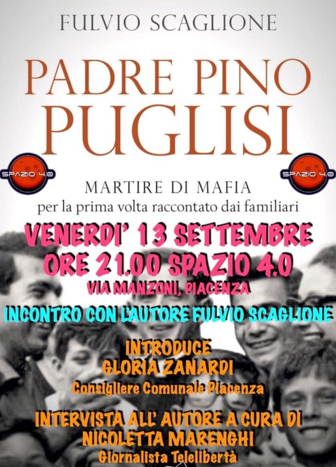 Padre Pino Puglisi raccontato da Fulvio Scaglione a Spazio 4.0